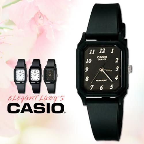 CASIO手錶專賣店卡西歐 LQ-142-1B 女錶 中性錶 指針錶 壓克力鏡面 學生型考試用 黑面白數字
