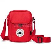 Converse 側背包 Cross Body 2 紅 白 男女款 隨身小包 運動休閒 【ACS】 10018468A03