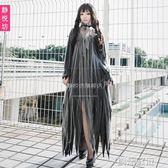 萬聖節cos服裝鬼新娘喪尸服僵尸裝酒吧派對吸血鬼長裙女巫演出服      創想數位