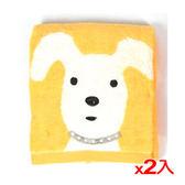 ★2件超值組★NON-NO無撚紗天狗毛巾-黃色(34*75cm)【愛買】