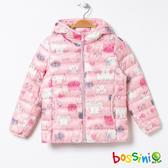 【歲末出清現折300】極輕羽絨外套03粉色-bossini女童