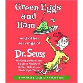 【麥克書店】GREEN EGGS AND HAM AND OTHER SERVINGS OF DR.SUESS @合輯CD (不含書)