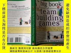 二手書博民逛書店The罕見Big Book of Team Building GamesY273344 John、Edward