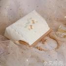 中國風斜挎小清新漢服包包古風斜挎旗袍包包百搭刺繡手提包口金包 蘿莉新品