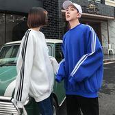 情侶裝秋裝帽T女新款韓版bf原宿風寬鬆加絨加厚冬季學生班服