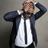 男士韓版領帶窄款領帶男正裝結婚細領帶5CM 黑色多色