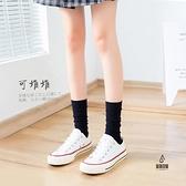天鵝絨小腿襪女中筒絲襪春秋日系JK襪子薄款過膝長襪長筒【愛物及屋】