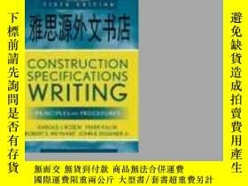 二手書博民逛書店【罕見】Construction Specifications