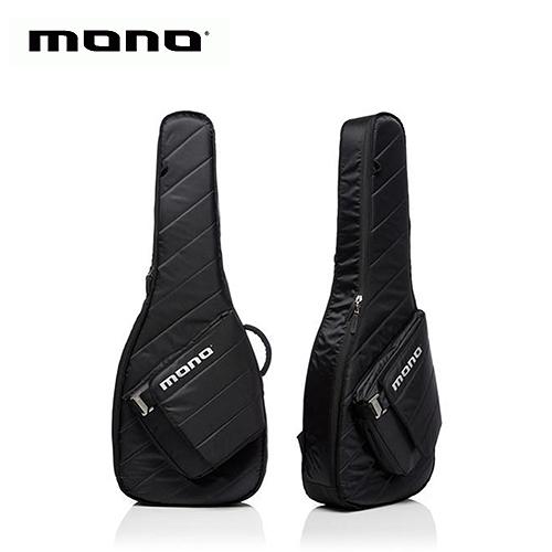 【敦煌樂器】MONO M80 SAD BLK Sleeve 民謠木吉他琴袋 酷炫黑色款