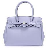 SAVE MY BAG Miss系列簡約輕量防水托特包(紫丁香色)280001-1