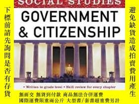 二手書博民逛書店Get罕見Ready! For Social Studies: Government And Citizenshi