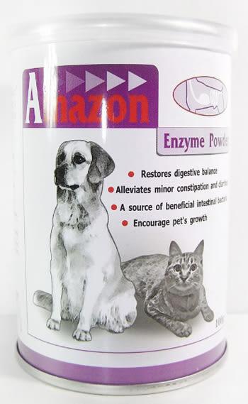 *~寵物FUN城市~*Amazon愛美康 天然消化酵素250g (犬貓用保健品,幫助寵物腸胃消化)