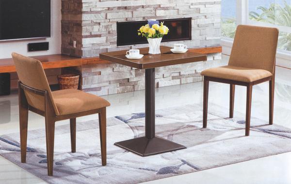 【IS空間美學】和悅簡約鐵藝 一桌二椅