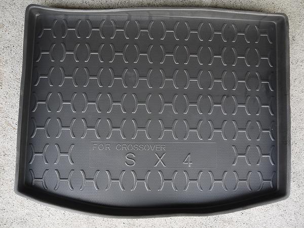 台灣製加高型 鈴木 suzuki 2014年 SX4 Crossover 專用凹槽防水托盤 防水墊