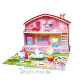 〔小禮堂嬰幼館〕Hello Kitty 扮家家酒房屋玩具《3歲以上》增加親子互動 4978902-00384