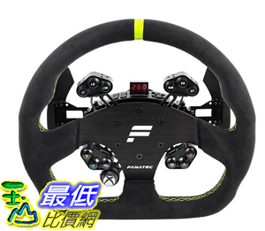 [9美國直購] 遊戲方向盤 FANATEC CLUBSPORT STEERING WHEEL GT ALCANTARA FOR PC AND XBOX