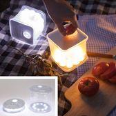 新款戶外太陽能防水充氣LED露營燈xx4652【野之旅】