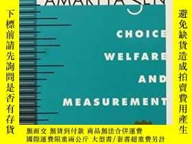 二手書博民逛書店Choice,罕見Welfare And MeasurementY255562 Amartya Sen Har