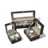 手錶收藏盒 手錶盒收納盒子家用簡約高檔禮物包裝展示盒一體放的墨鏡箱【全館免運】