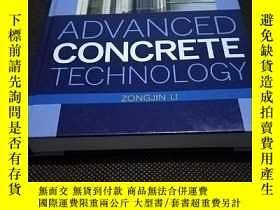 二手書博民逛書店Advanced罕見Concrete Technology(printed in the United State