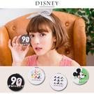 Disney迪士尼米奇90周年皮革彩繪圓...