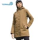 TERNUA 女環保紗防水透氣連帽保暖外套1643071 ( 登山 露營 旅遊健行 風衣防水 )