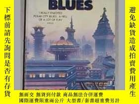 二手書博民逛書店英文原版罕見Polar City Blues by Kathar