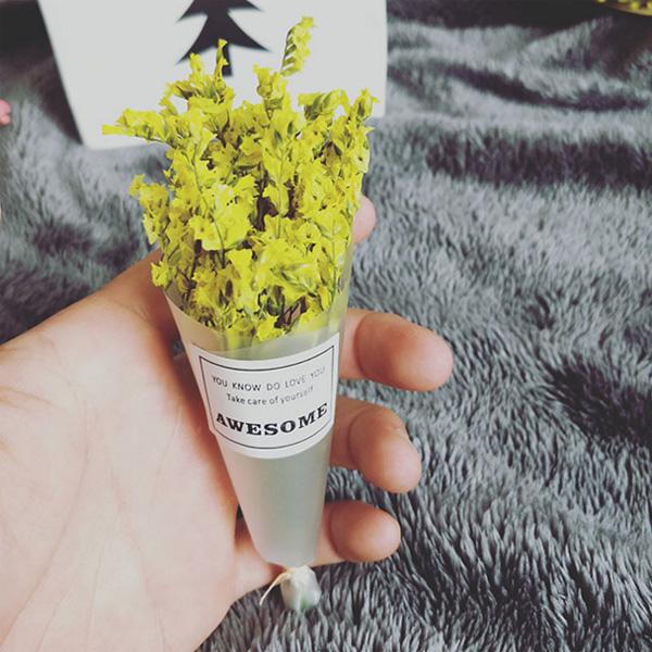 【BlueCat】迷你乾燥水晶草花束 拍照道具