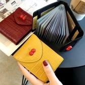 卡包女小巧超薄精致高檔多卡位大容量卡片套卡夾防消磁韓國可愛潮 雙11提前購