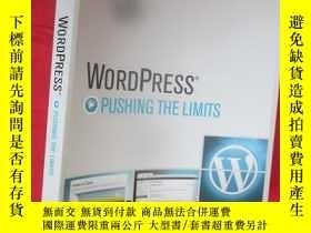 二手書博民逛書店Wordpress:罕見Pushing the Limits (