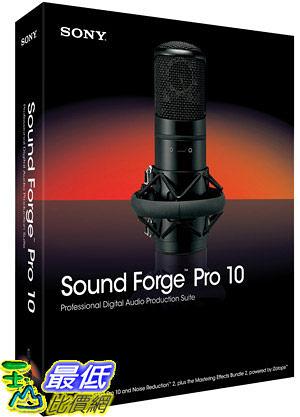 [美國直購 ShopUSA] Sony Creative Sound Forge  Pro 10 $14339