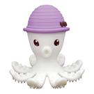 【贈收納盒】英國 mombella 媽貝樂 樂咬咬章魚固齒器-紫
