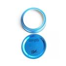 [Ball Mason Jars] 專用鐵環蓋子組 寬口藍 (6659)