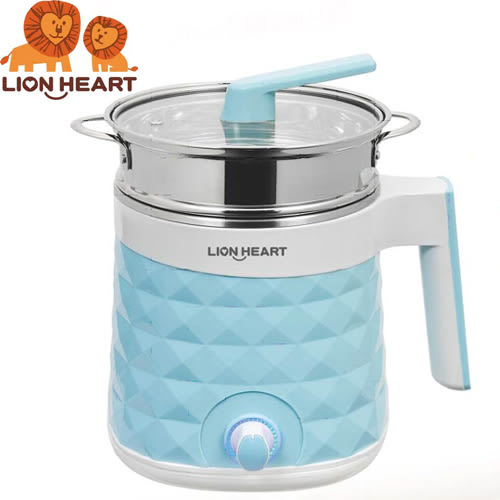 Lion獅子心 HEART雙層防燙不銹鋼多功能美食鍋 LTK-829S