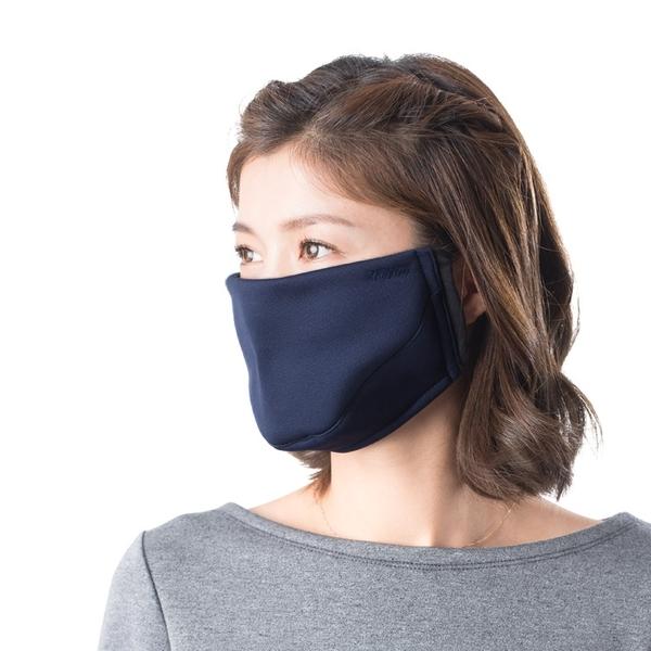 UV100 防曬 抗UV 保暖防潑彈性造型口罩-附濾片