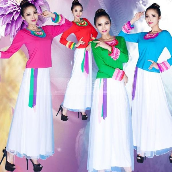 廣場舞服裝 中老年人演出服表演服裝LG-039