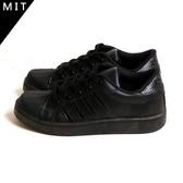 女款 MIT製造 素面全黑上班鞋 工作鞋 休閒鞋 滑板鞋 59鞋廊