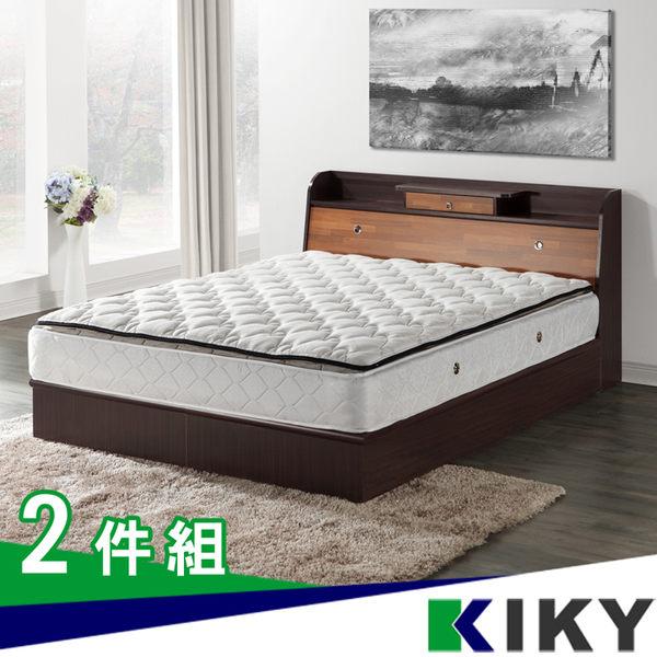 床組/雙人5尺-【武藏-新色】床頭加抽屜加高(床頭箱+床底)~台灣自有品牌-KIKY~Musashi