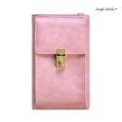 長夾-簡約復古2way大容量手機包附長背帶女皮夾 AngelNaNa (SMA0279)