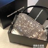 aw大王水鑚包包2021新款潮時尚腋下包滿鑚鑚石包手提側背包包女夏 美物生活館