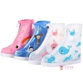 防水鞋套 兒童雨鞋套防水雨天男童女童雨天寶寶防雨鞋套小學生加厚耐磨防滑S-XXXL碼 多色