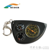 RYDER萊德指南針戶外溫度計旅行地圖測距儀測量儀徒步指北針 ♥怦然心動♥
