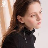 耳環女韓國氣質長款耳鍊簡約耳線流蘇耳墜百搭耳飾耳釘 聖誕交換禮物