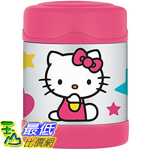 [103美國直購] F3004HK6 Thermos Funtainer 10-Ounce Food Jar Hello Kitty 保溫瓶 $985