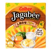 日本 加卡比薯條盒裝 幸福奶油 5袋入 Jagabee Calbee