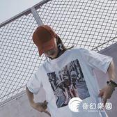 【現貨快出】網紅上衣服BF怪味少女生嘻哈酷帥氣街頭ins短袖t恤潮634-305-奇幻樂園