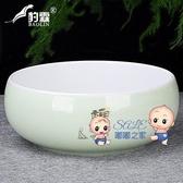 茶洗 大號特大筆洗水盂水洗茶碗陶瓷功夫茶具配件茶道零配家用茶盤 7色