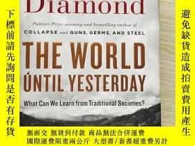 二手書博民逛書店The罕見World Until Yesterday:What