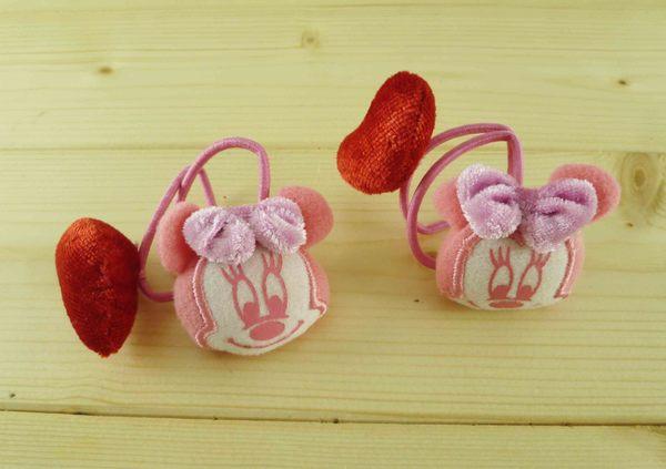 【震撼精品百貨】Micky Mouse_米奇/米妮 ~造型髮束-愛心米妮