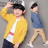 男童外套2018春裝新款兒童裝棒球服韓版